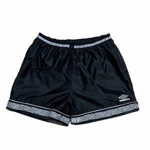 Vintage 90s Umbro Patterned Nylon Shorts